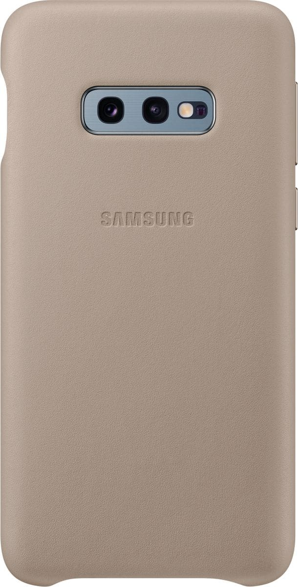Samsung Leather Cover Gray Coque