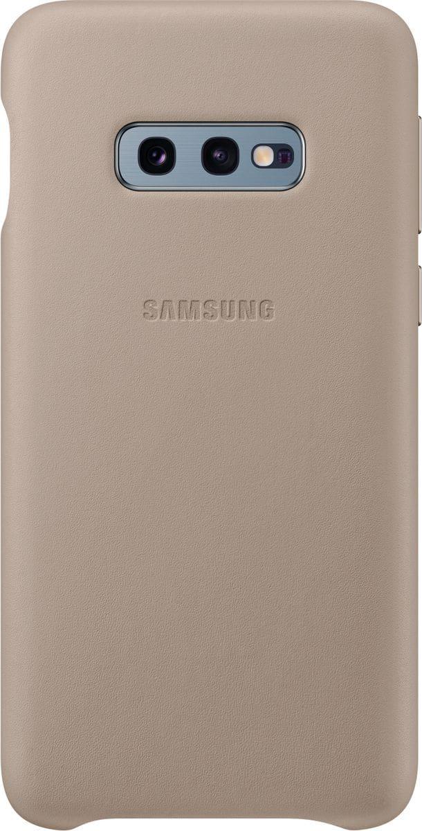 Samsung Leather Cover Gray Custodia