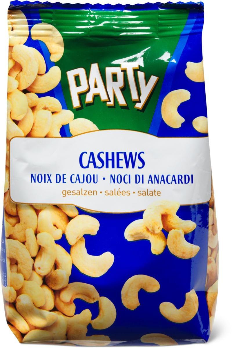 Party Cashews gesalzen