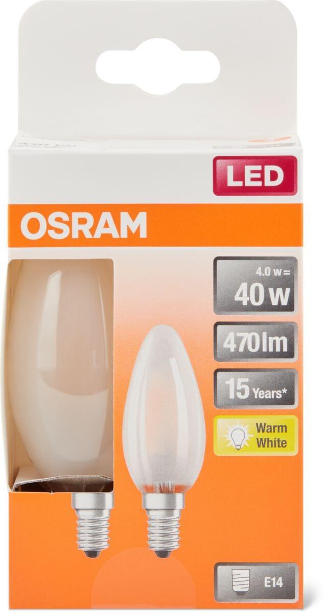 Osram LED BASE MATT CLAS  B 40 E14