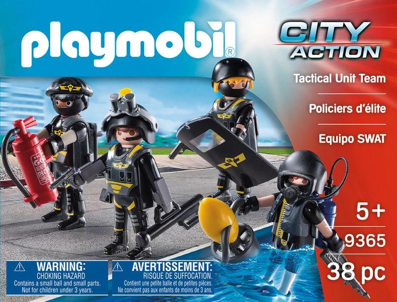 Playmobil Policiers d'élite