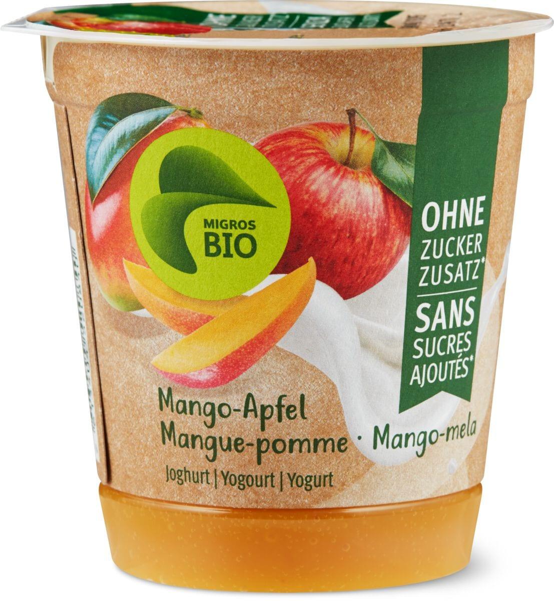 Bio Joghurt Mango-Apfel o.Zuckerzusatz