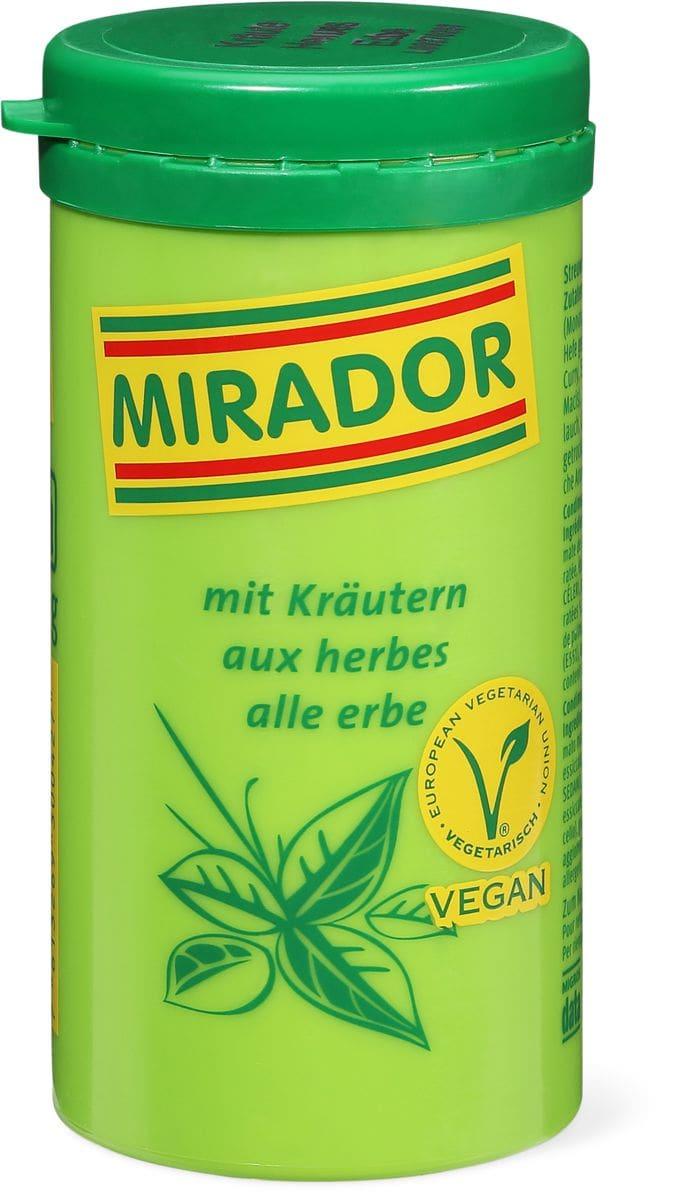 Mirador mit Kräutern