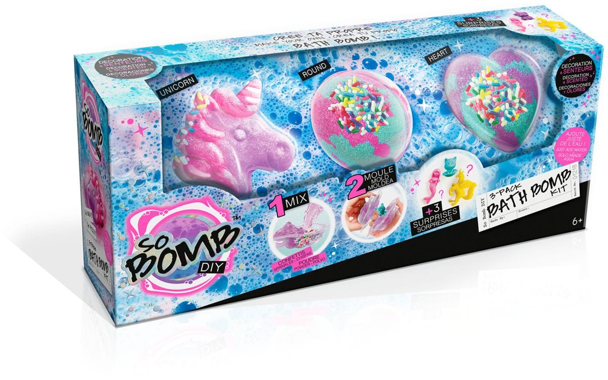 Bath Bomb 3er-Pack Kit scientifici