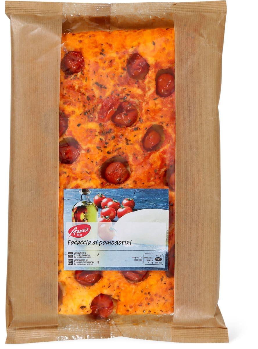 Anna's Best Focaccia pomodorini