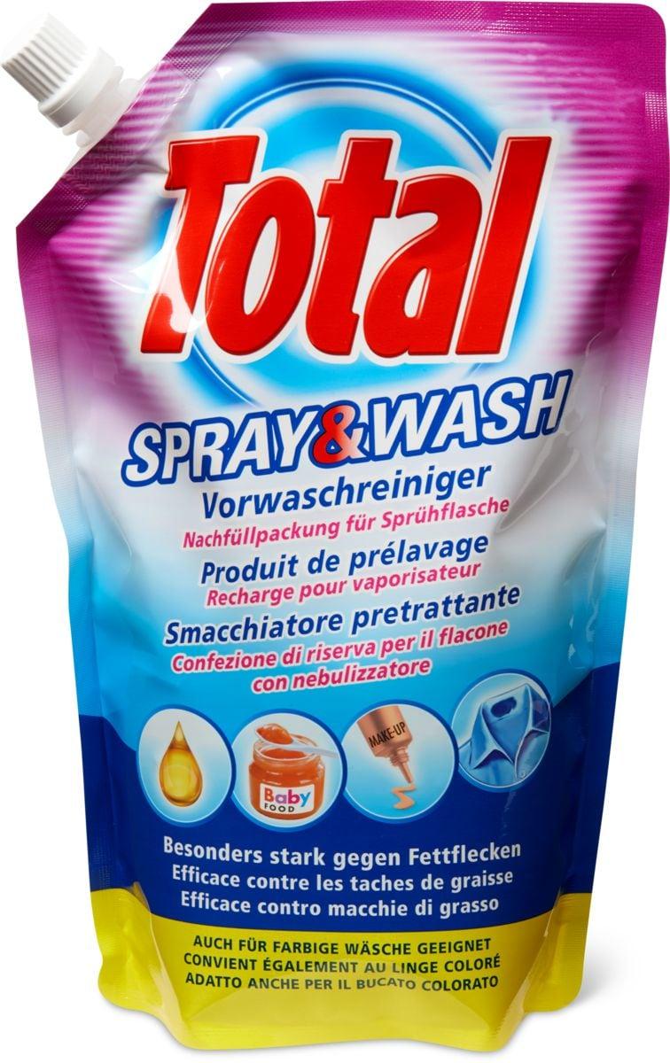 Total Spray & Wash en sachet de recharge