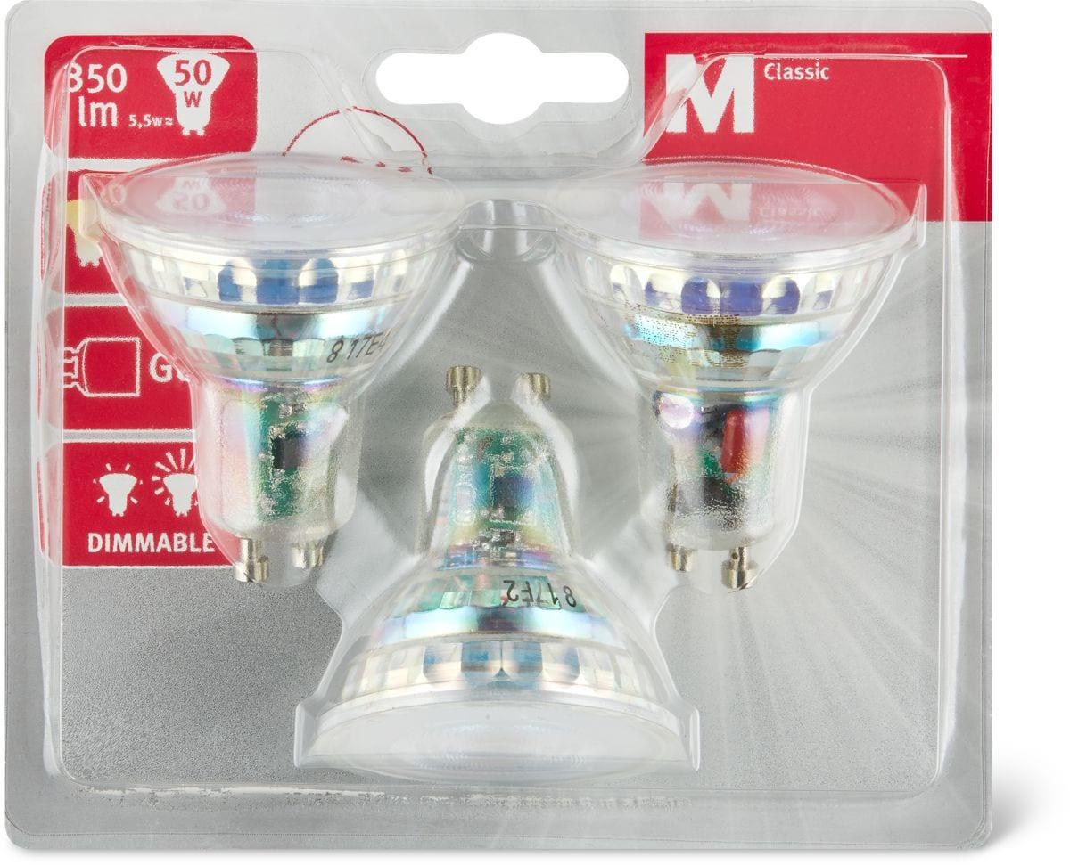 M-Classic LED rifl. 50w gu10 dimmable Lampadine