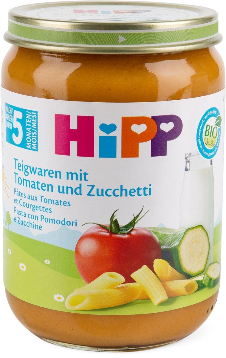 Bio HiPP Pasta con pomodori e zucchine