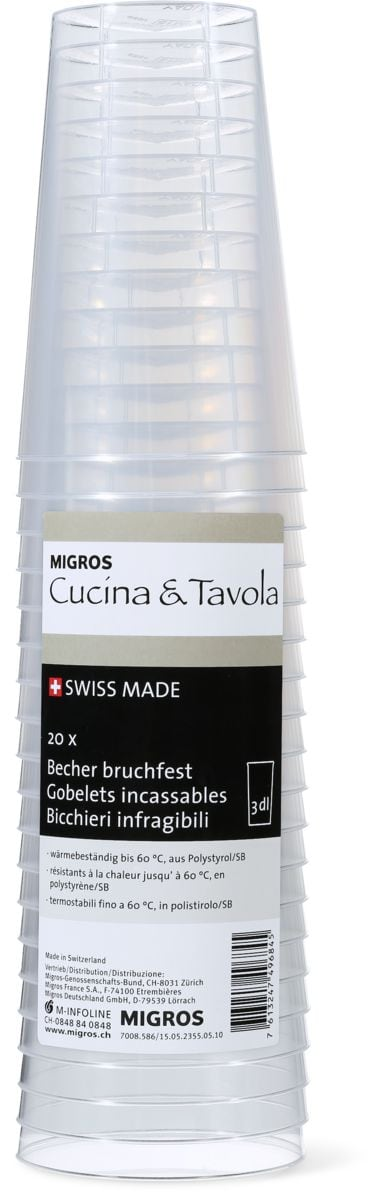 Bicchieri Infragibile CUCINA&TAVOLA
