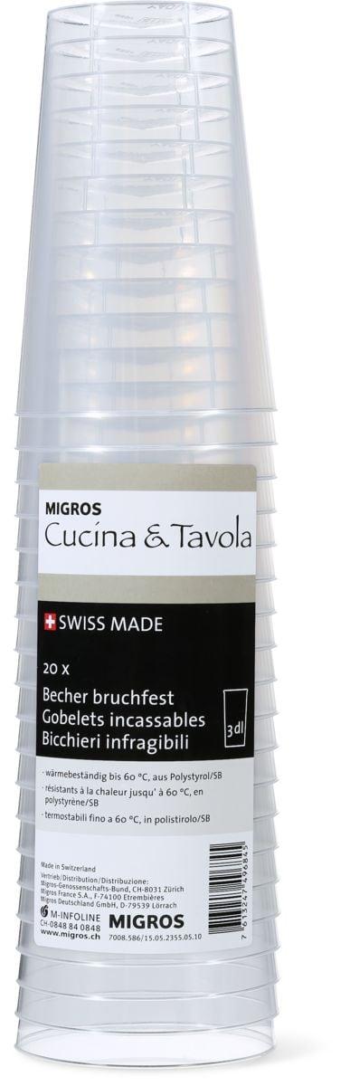 Cucina & Tavola Bicchieri infragbile