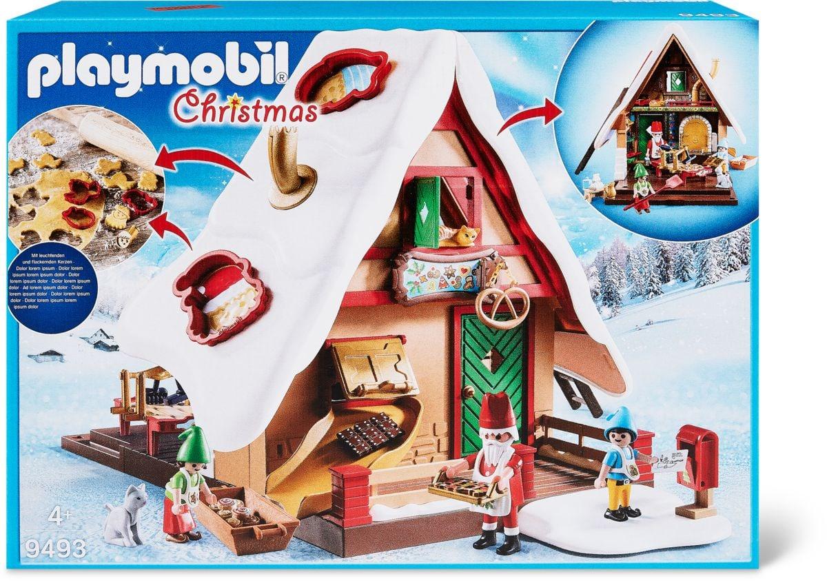 Forno di Babbo Natale con stampi per biscotti