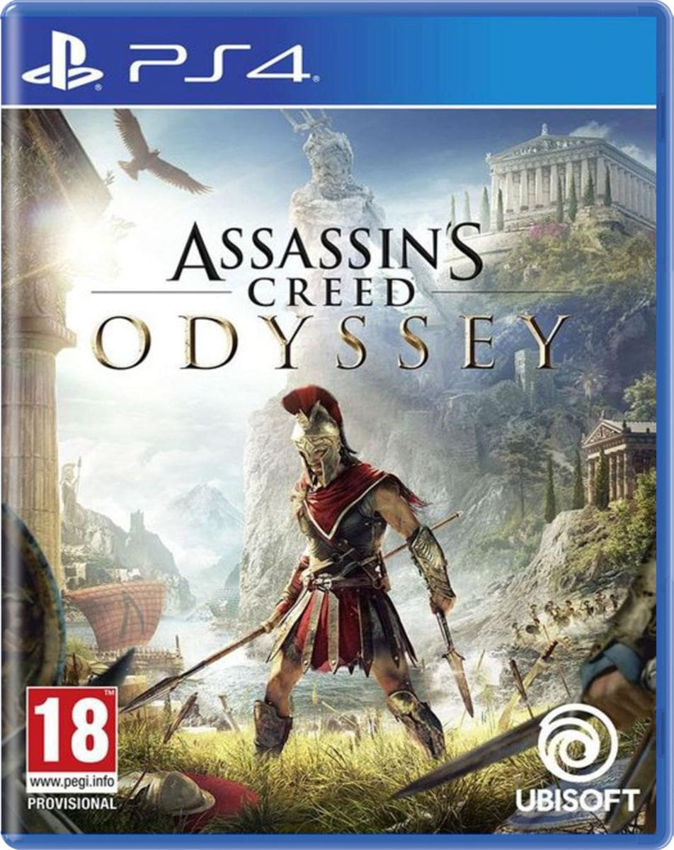 PS4 - Assassin's Creed Odyssey Box
