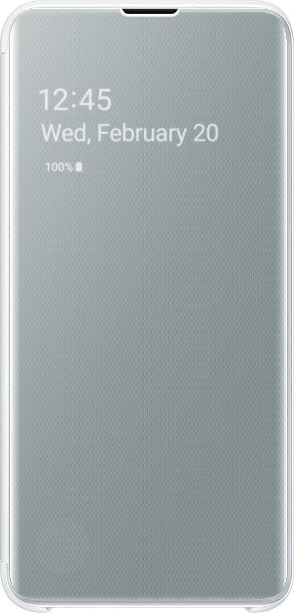 Samsung Clear view cover White Hülle