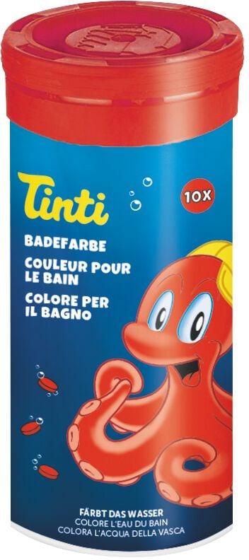 Tinti Badetabletten rot, 10 Stück Basteln