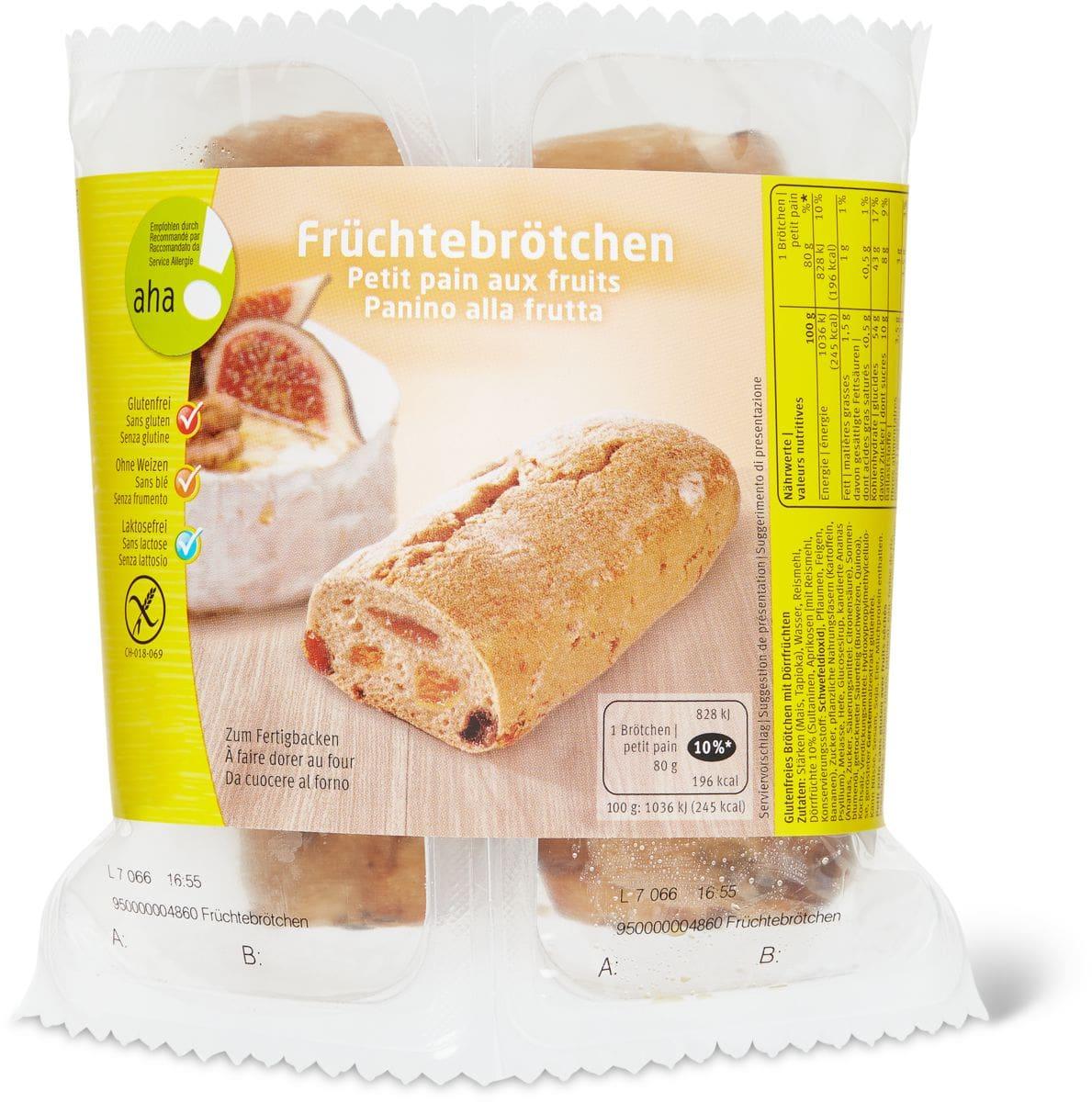 Petit pain aux fruit aha!