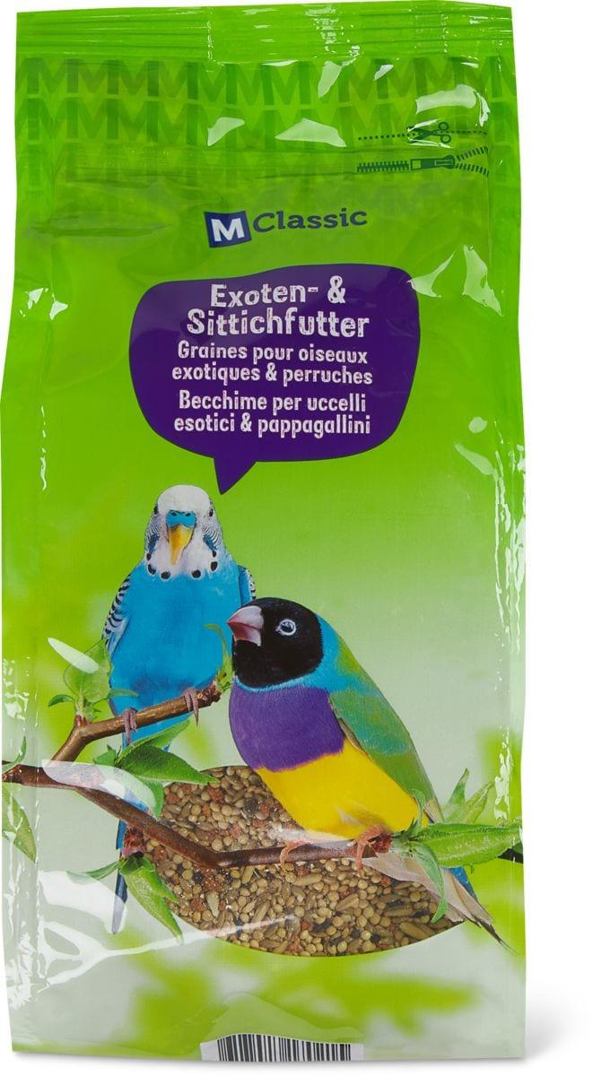 Graines oiseaux exotiques