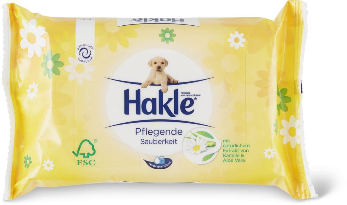 Hakle Lingettes imprégnées Propreté traitante