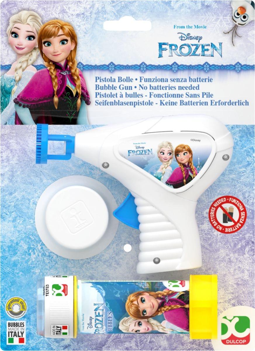 bubble world Seifenblasenpistole Frozen Outdoor-Spielzeug