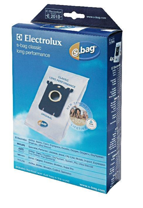 Electrolux s-bag e201b classic-long-performance sacs à poussière