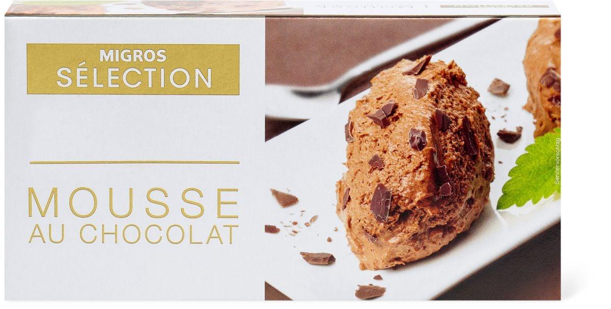 Sélection Mousse au chocolat