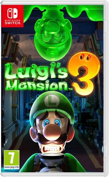 Nintendo NSW - Luigi's Mansion 3 Box
