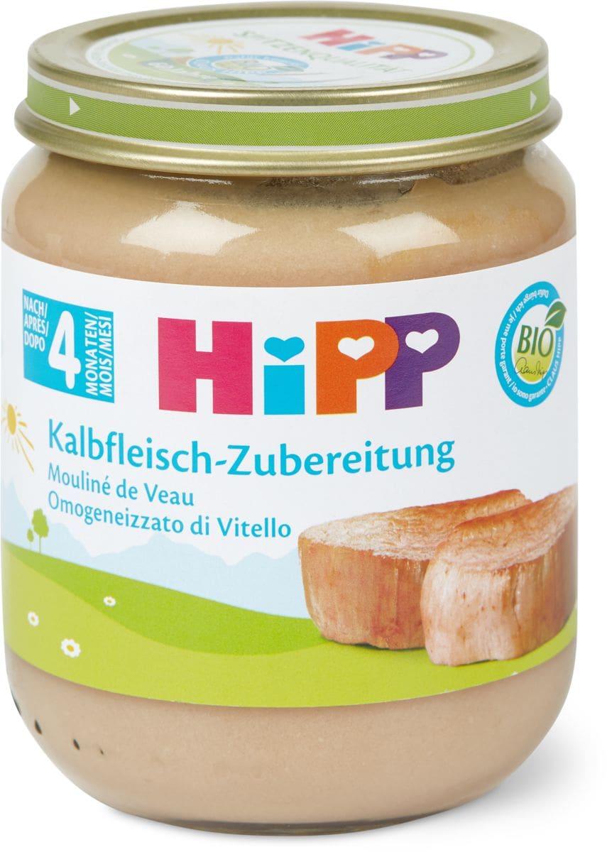 Bio HiPP Mouliné de veau
