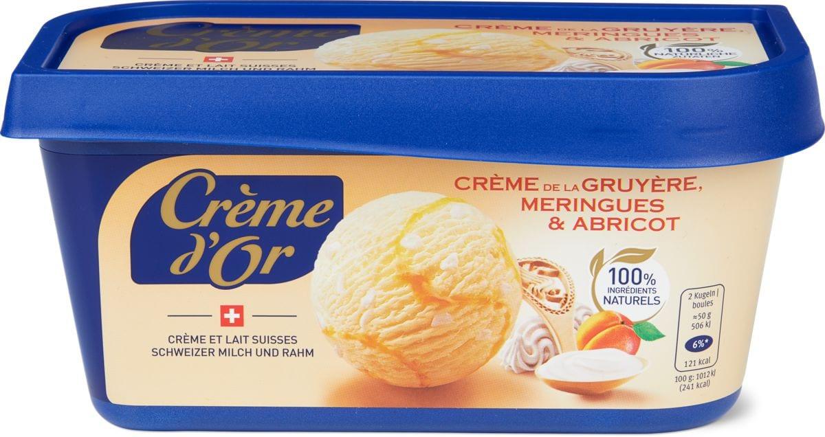 Crème d'or Crème de la Gruyère