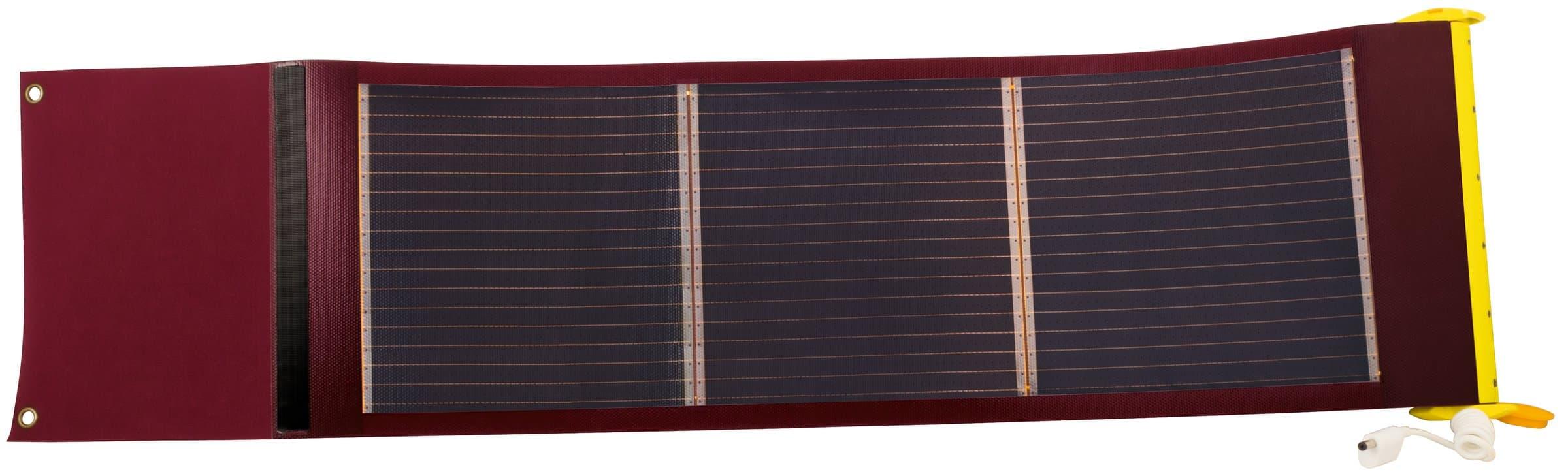 Steffen SunPower Solar Panel rollbar 9W
