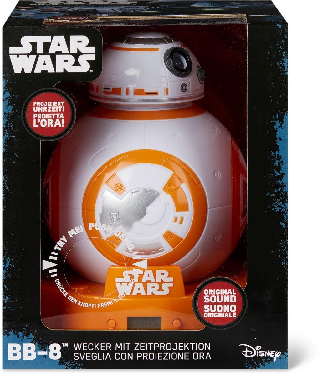 Star Wars BB8 sveglia con proiettore