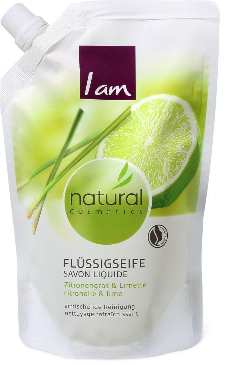 I am Natural Cosmestics savon liquide citronelle&lime