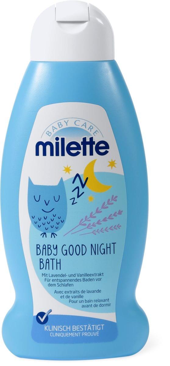 Milette Baby Bonne Nuit Bain