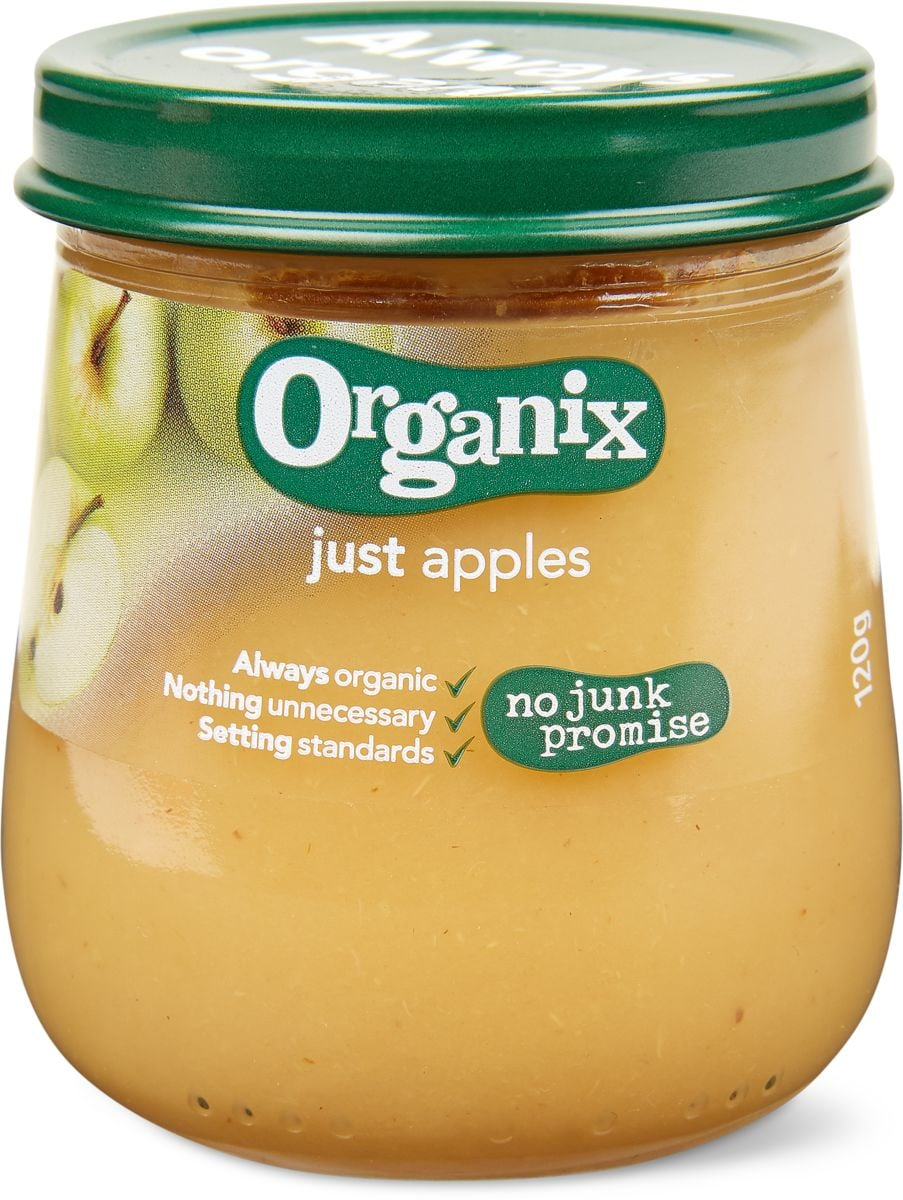Organix juste des pommes