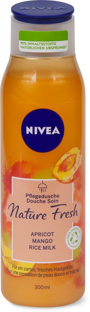 Nivea Nature Fresh Dusche Aprikose
