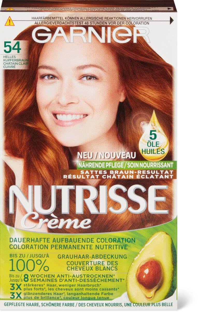 Garnier Nutrisse 54 châtain clair cuivré