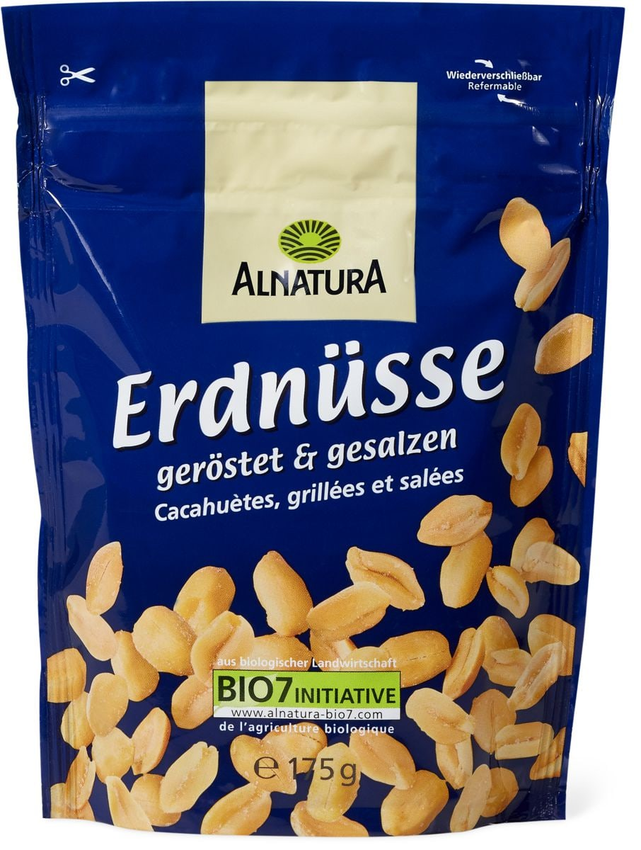 Alnatura arachidi tostate & salate