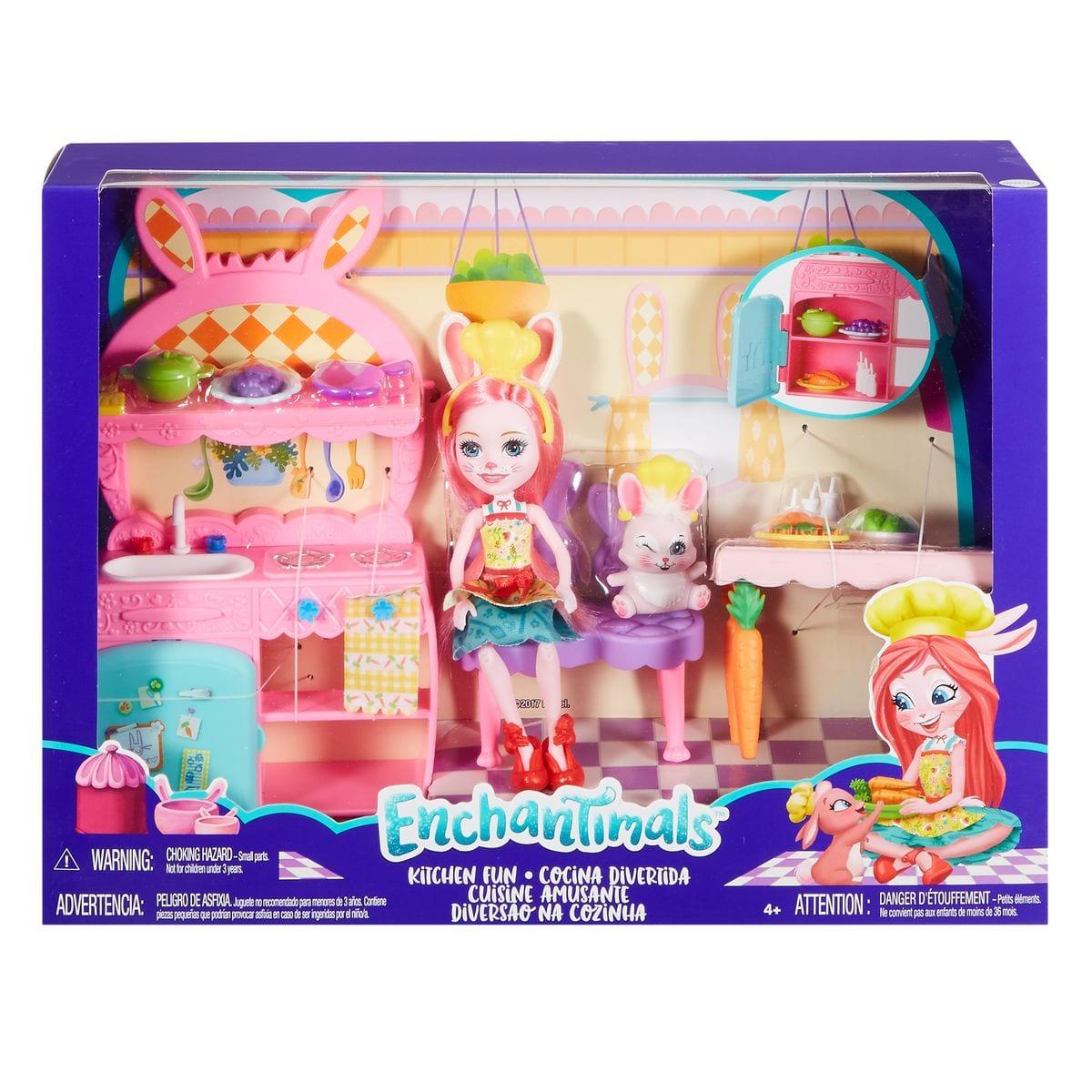 Mattel Enchantimals FRH44 Puppe und Zubehör II Set di bambole