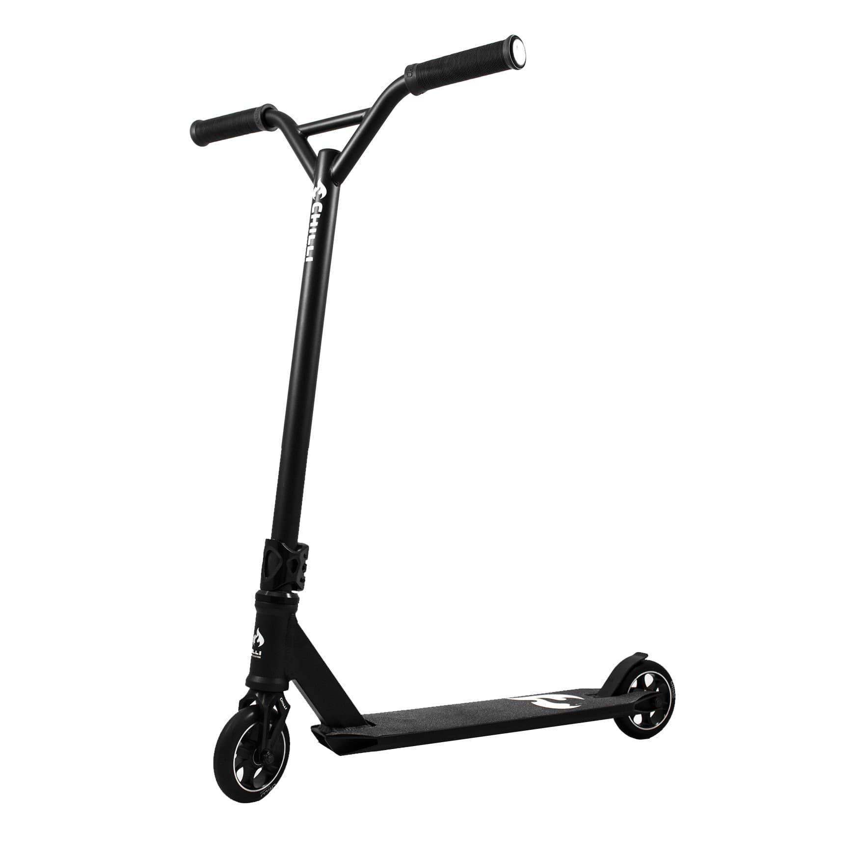chilli pro 5000 all black stunt scooter migros. Black Bedroom Furniture Sets. Home Design Ideas