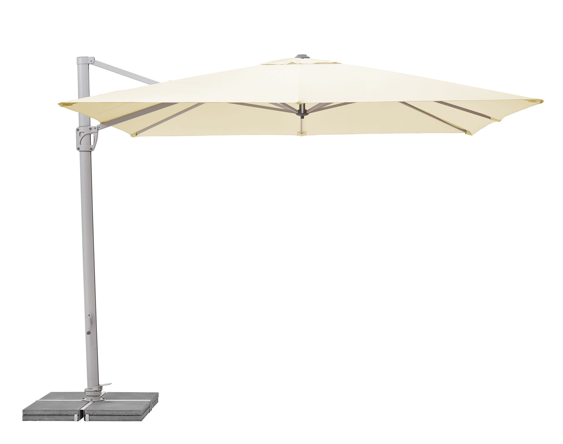 suncomfort by glatz sunflex parasol 300 x 300 migros. Black Bedroom Furniture Sets. Home Design Ideas