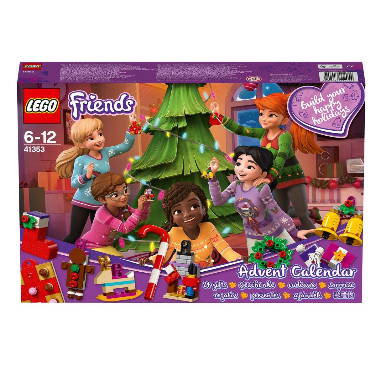 Lego Friends Calendario dell'Avvento 41353
