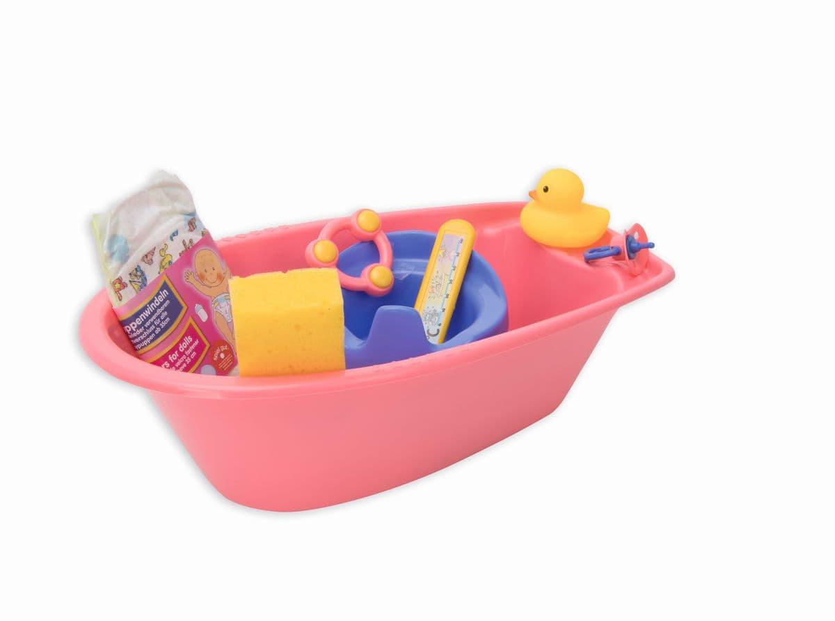 Heless set vasca da bagno Bambole accessori