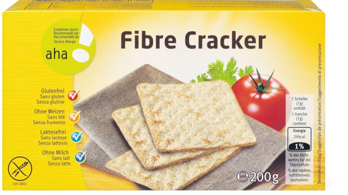 Aha! fibre cracker sans gluten
