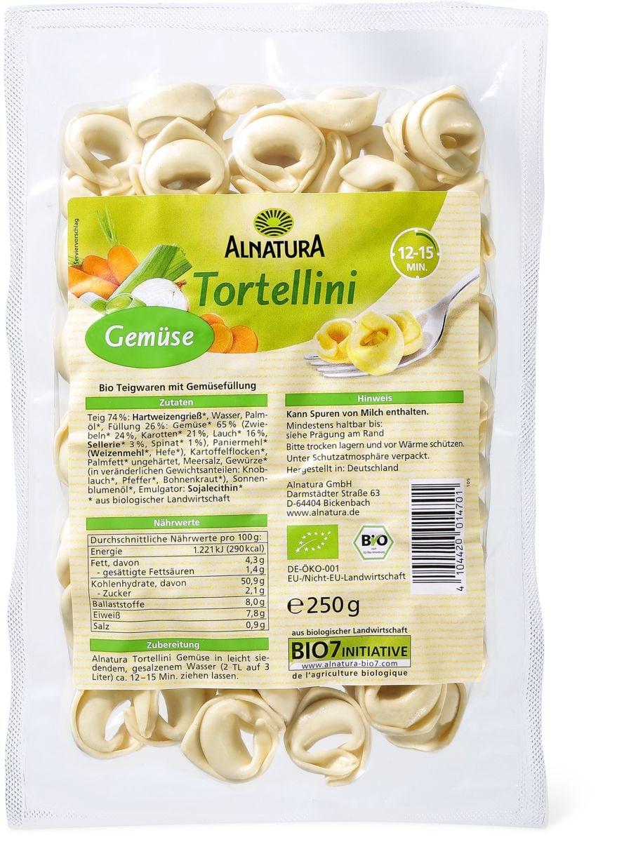 Alnatura Tortellini Gemüse