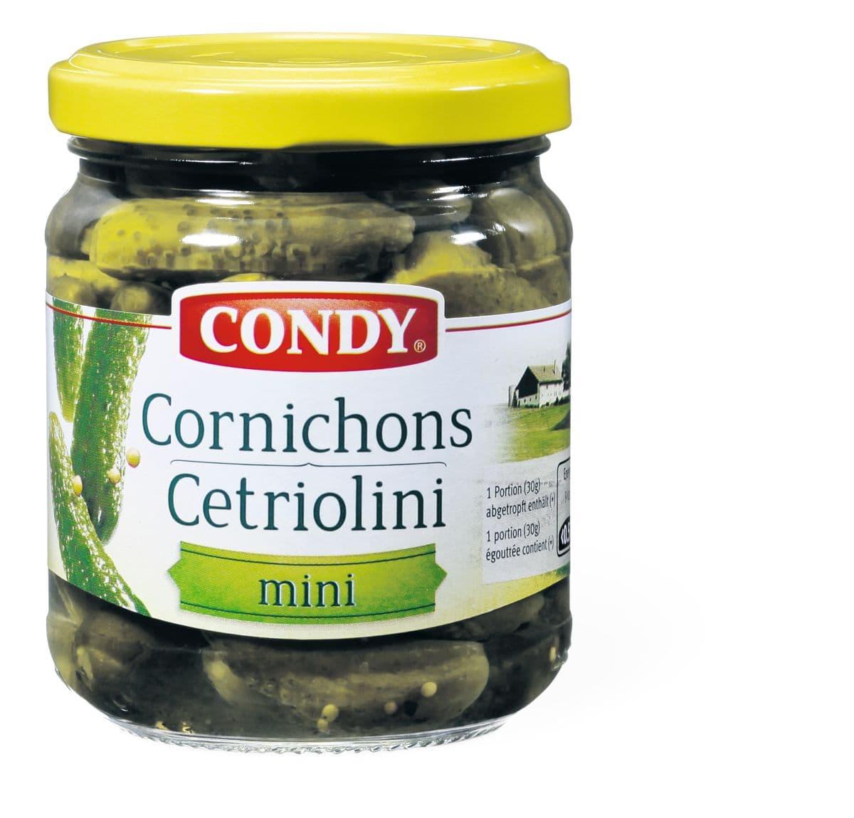 Condy Cornichons fein