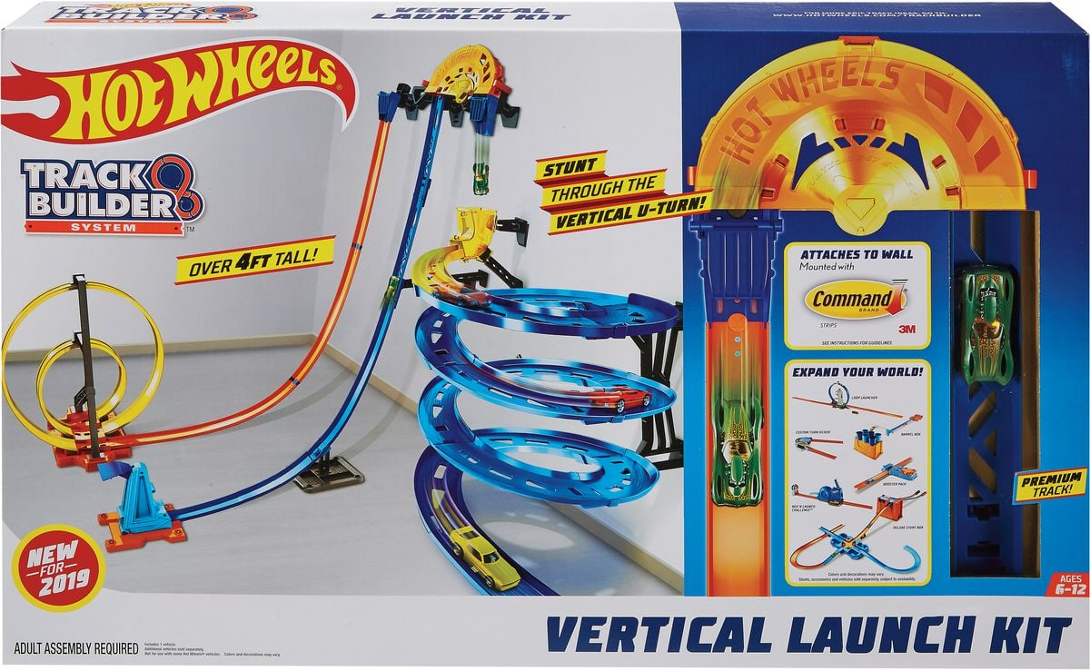 Hot Wheels Track Builder Vertical Launch Kit Bahn