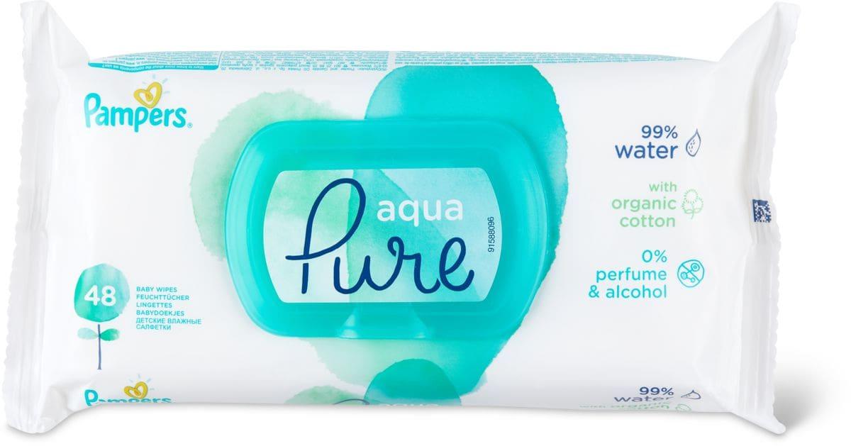 Pampers Aqua Pure lingettes