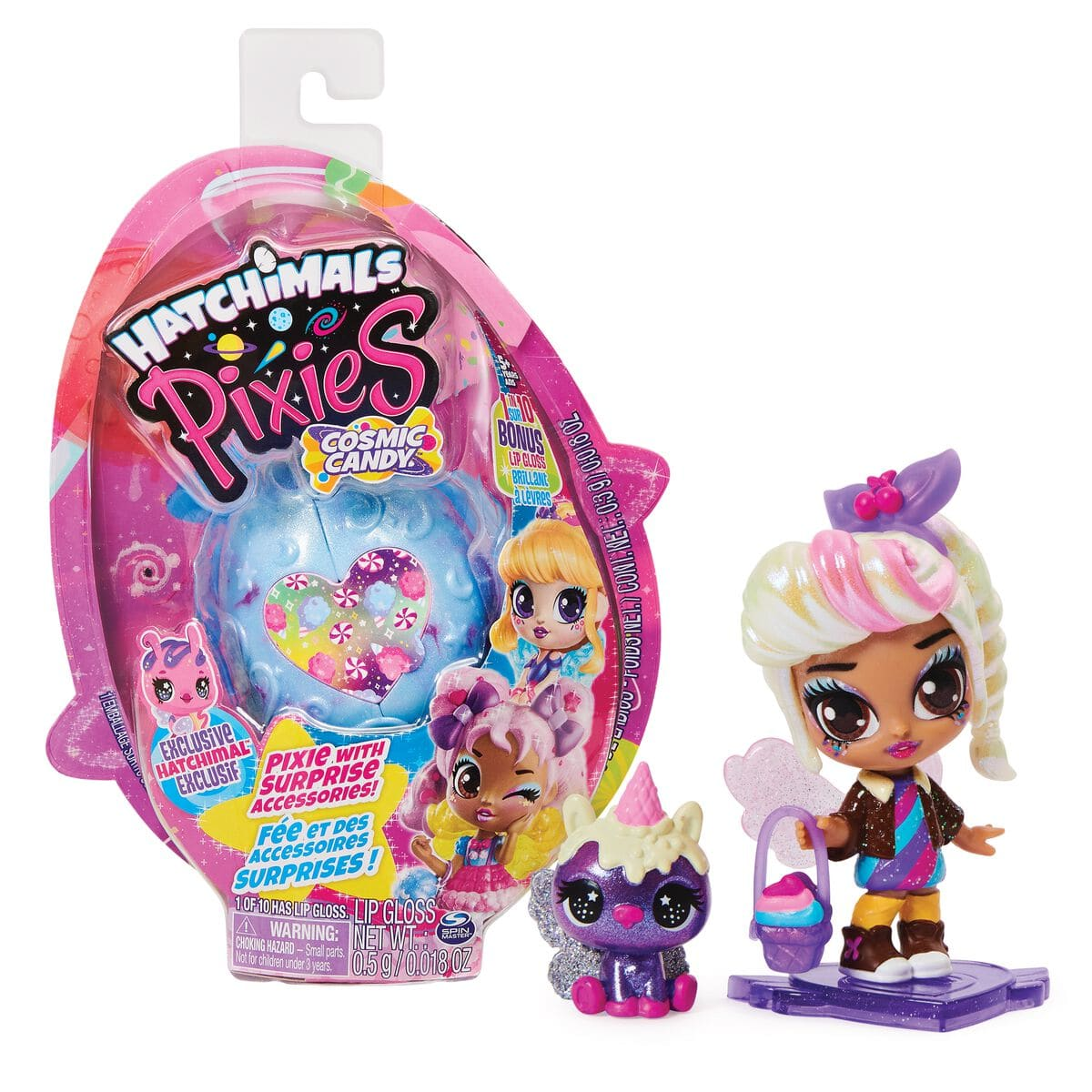 Spin Master Hatchimals Pixies Comic Candy Puppe