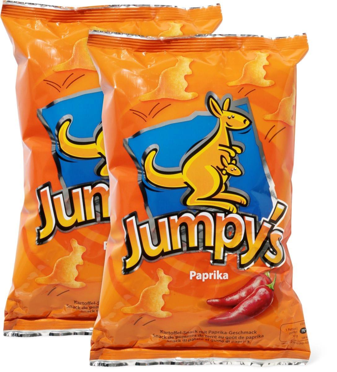 Flips, Jumpy's, Triangles und M-Classic Popcorn gesalzen im Duo-Pack