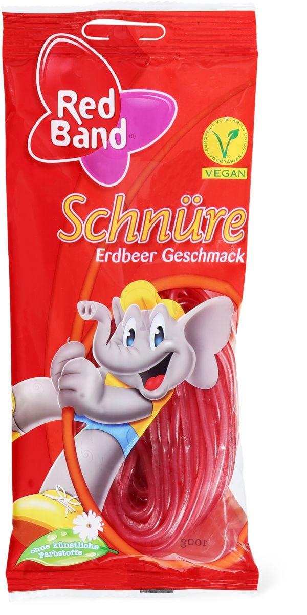 Red Band Schnüre Erdbeer Geschmack