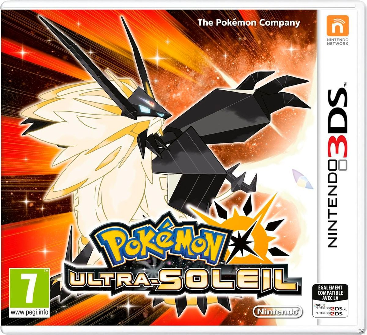 3DS - Pokémon Ultrasole  Box