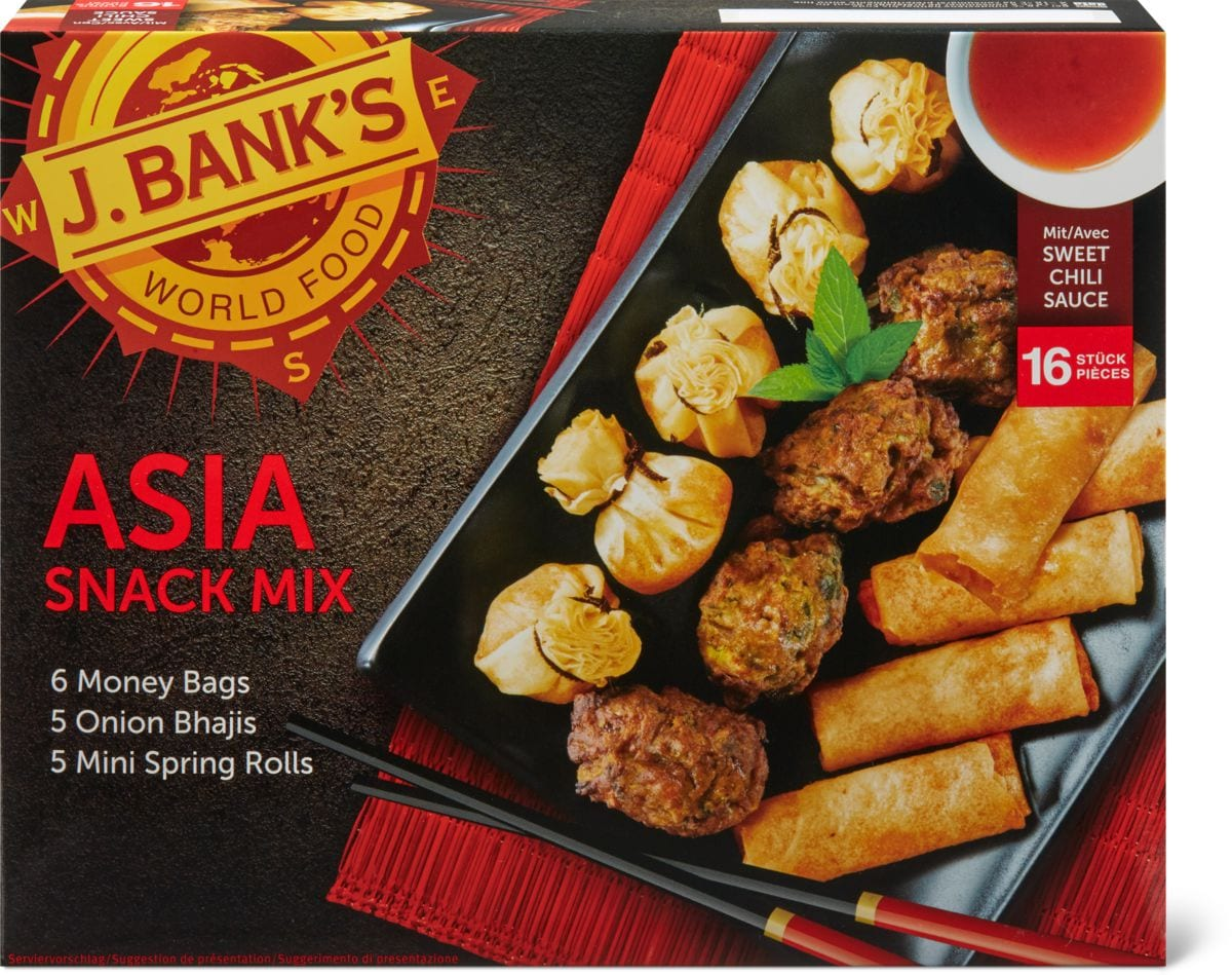 J. Bank's Asia snack mix
